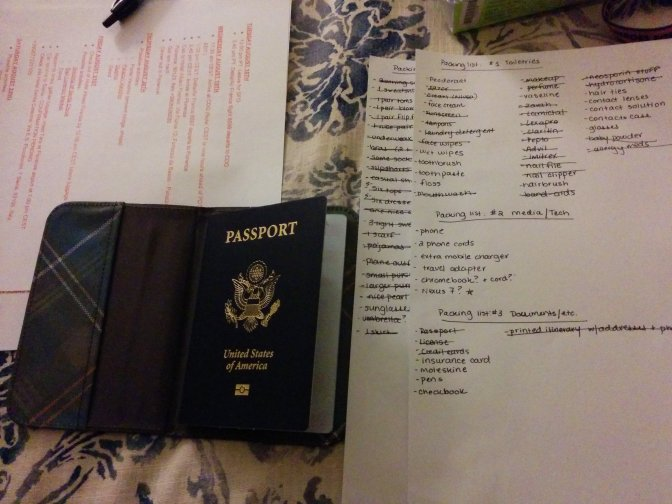 How to prepare for an international vacation