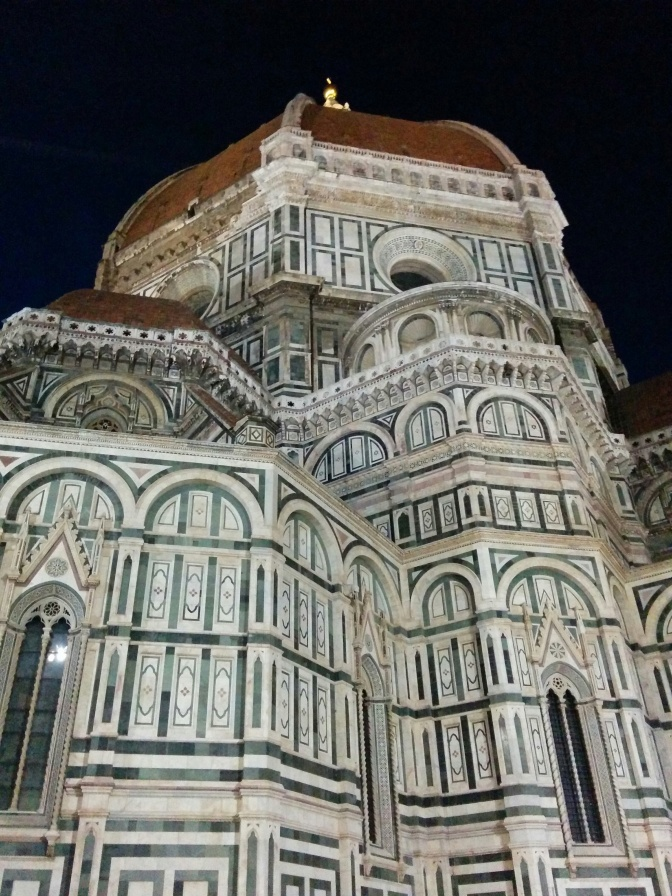 I've been in Florence for 8 hours and I'm pregnant…