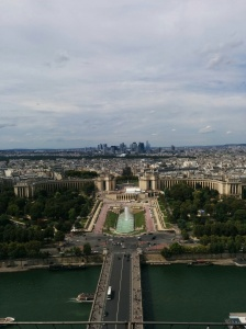 View from Eiffel Tower.