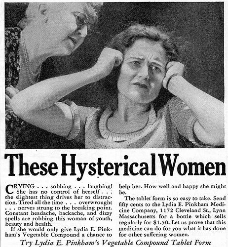 The Hysterical Woman Experiment (A-Z Challenge)
