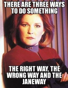 right way janeway